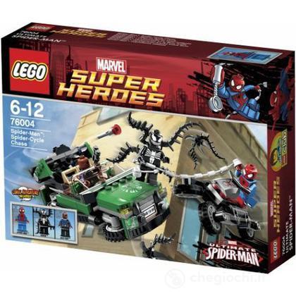 Spider-Man inseguimento sul ragno-ciclo - Lego Super Heroes (76004)