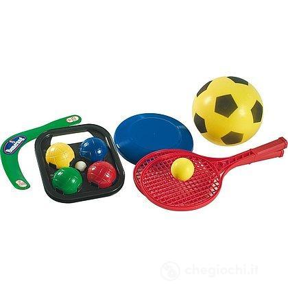 Zaino maxi giochi sport, 5 giochi (107401226)