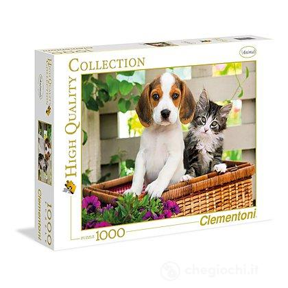The dog and the cat 1000 pezzi High Quality Collection (39270)