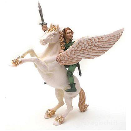Pegaso con cavaliere elfo