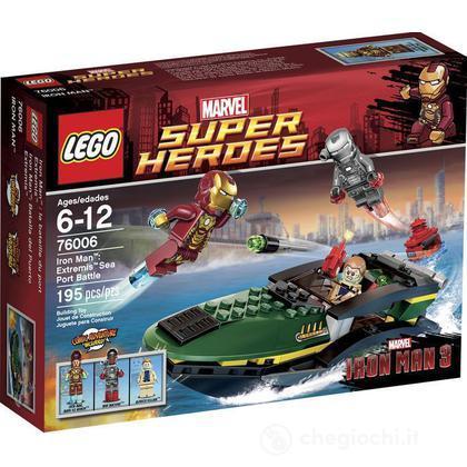 Iron Man Extremis battaglia al porto - Lego Super Heroes (76006)