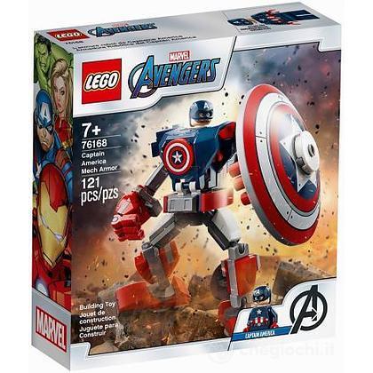 Armatura mech di Capitan America - Lego Super Heroes (76168)