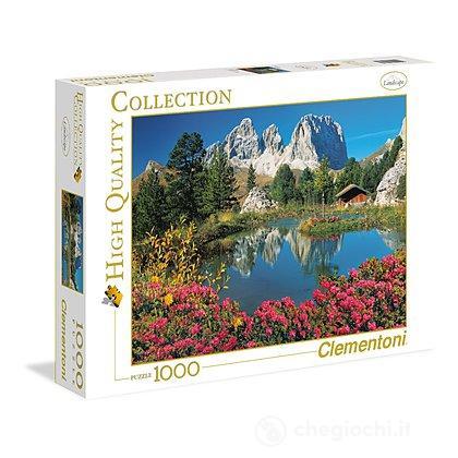 Passo Pordoi Sassolungo 1000 pezzi High Quality Collection (39273)