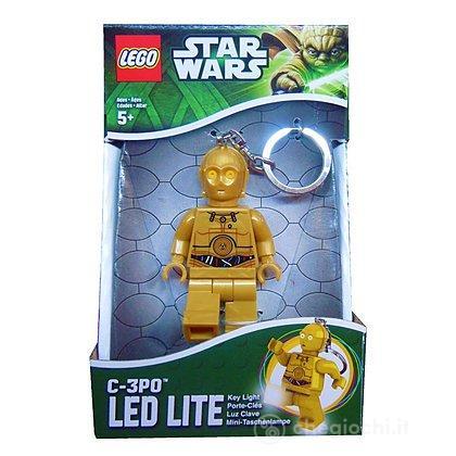 Lego Star Wars - C3PO - Portachiavi con Luce