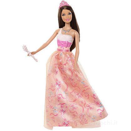 Barbie principessa al party - Teresa abito rosa (W2859)