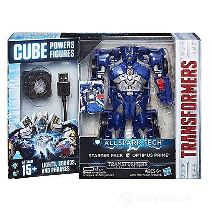 Tech Starter Set Optimus Prime Transformers