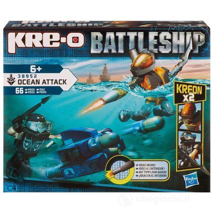 Kre-O Battle Ship Scuba Sled
