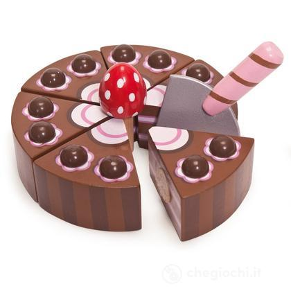Torta di compleanno al cioccolato (TV277)