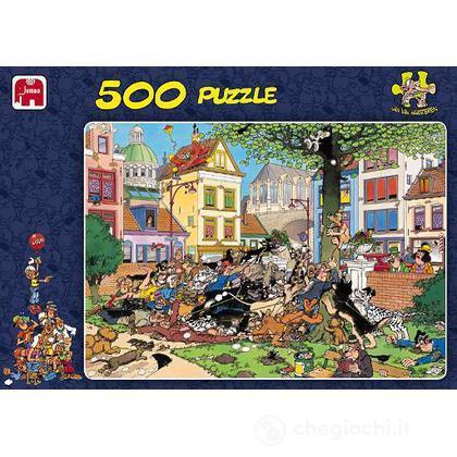 Comic 500 Pezzi - Dietro Al Gatto (617277)