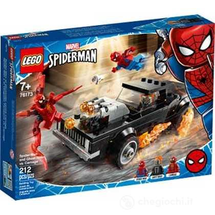 Spider-Man e Ghost Rider vs. Carnage - Lego Super Heroes (76173)