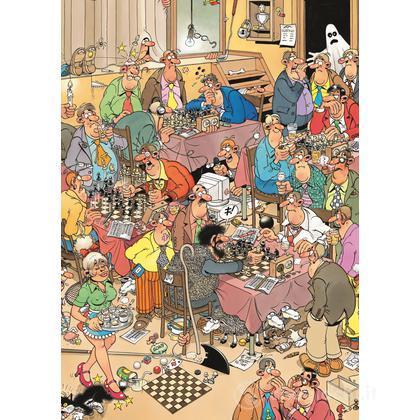 Club di scacchi 500 pezzi