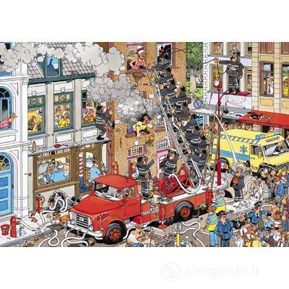 Comic 500 Pezzi- Al Fuoco (617279)