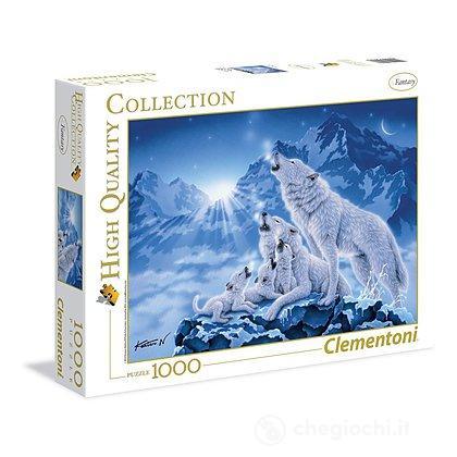 Famiglia di lupi 1000 pezzi High Quality Collection (39280)