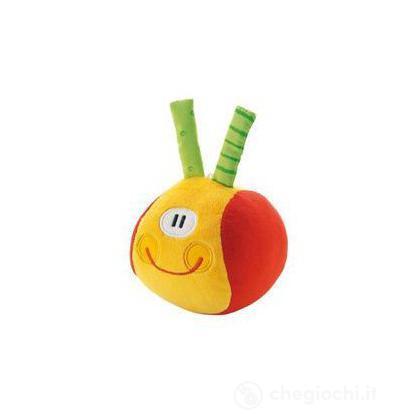 Palla Smile rossa - 10 cm (82281)