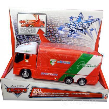 Cars francesco's transporter - Trasportatori Stunt Racers 0746775scala 1:55 (Y1322)