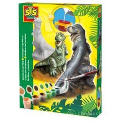 Stampo in gesso Dinosauro T-Rex