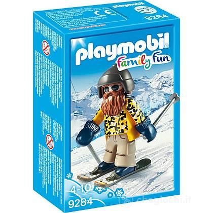 Sciatore con Snowblades (9284)