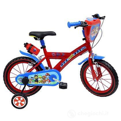 Bicicletta 14 Paw Patrol