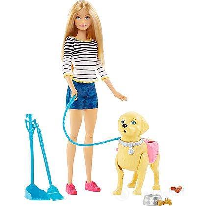 Barbie a spasso coi cuccioli (DWJ68)