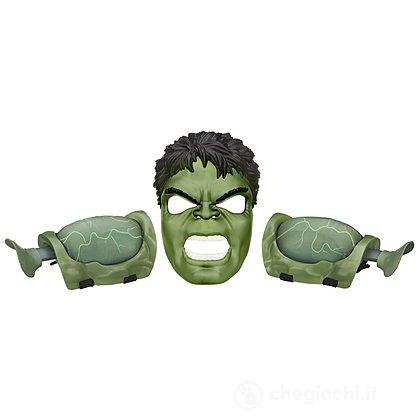 Avengers Hulk set maschera (B0428EU4)