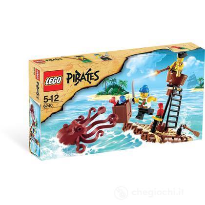 LEGO Pirati - L'attacco della piovra (6240)