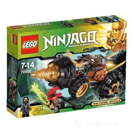 La trivellatrice di Cole - Lego Ninjago (70502)