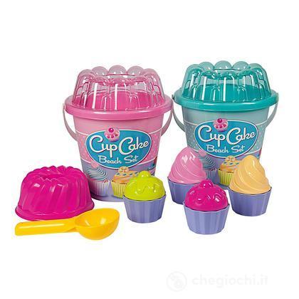 Secchiello Mare Cupcake con accessori