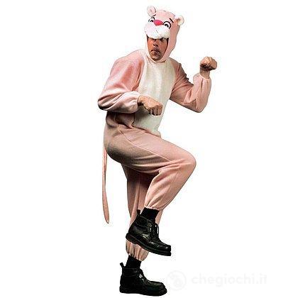 Costume Adulto pantera rosa peluche XL