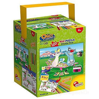 Puzzle In a Tub Maxi 120 Oggy e i Maledetti Scarafaggi