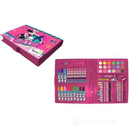 Valigetta colori 80 pezzi Minnie