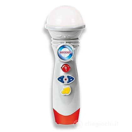 Microfono Karaoke con luci