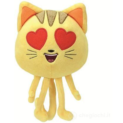 Emoji 20 cm Cat Heart Eye occhi cuore gatto