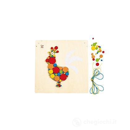 Mosaico gallo (E5129)