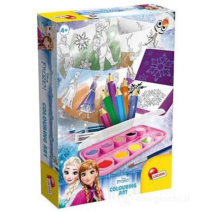 Frozen Colouring Art