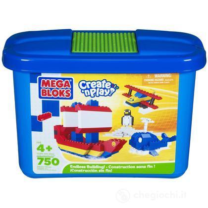 Contenitore Micro Mattoncini 620 pezzi