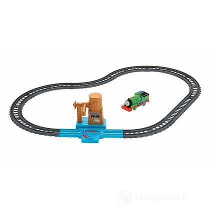Pista Thomas Track Master torre con cisterna (FXY64)