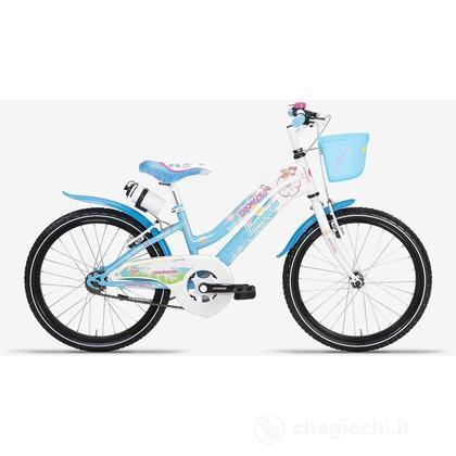 """Bici 20""""  Akira 6 velocità  Sky blu/White"""