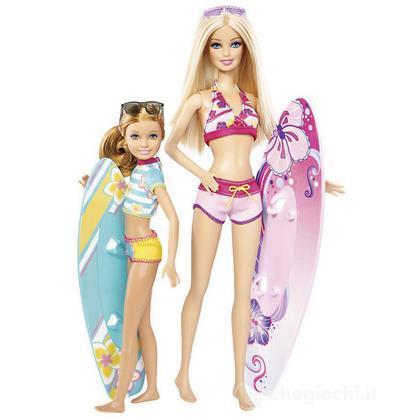 Surf Barbie e Stacie - Barbie Express (CBR15)