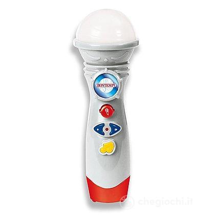 Microfono Karaoke con luci (41 2710)
