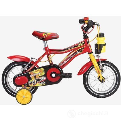 "Bici 12"" Monopoli Red/Yellow"