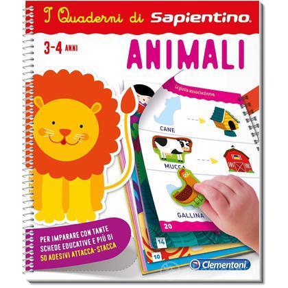 I Quaderni Di Sapientino Animali (13300)