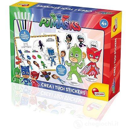 Pj masks crea i tuoi stickers 63000 adesivi e timbrini for Crea i tuoi progetti
