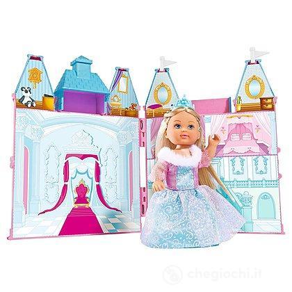 Evi Love Principessa Ice con castello richiudibile