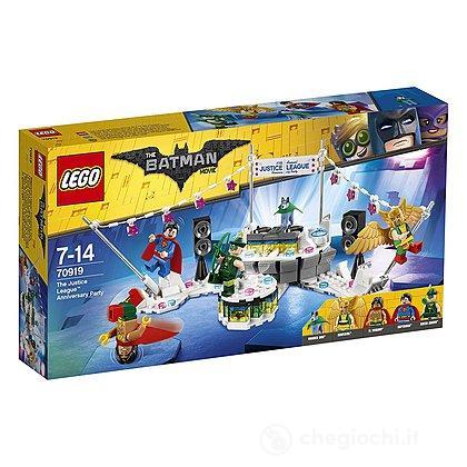 La festa di anniversario della Justice League - Lego Batman Movie (70919)