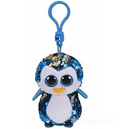 Peluche portachiavi pinguino Glitter