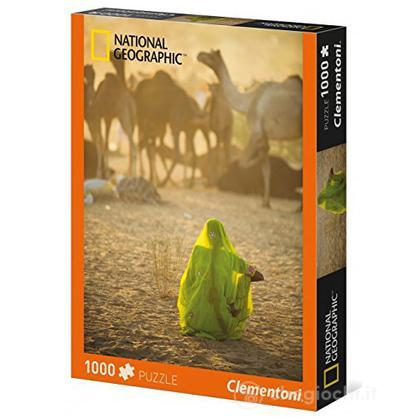 National Geographic Donna Indiana Puzzle 1000 Pezzi (39302)