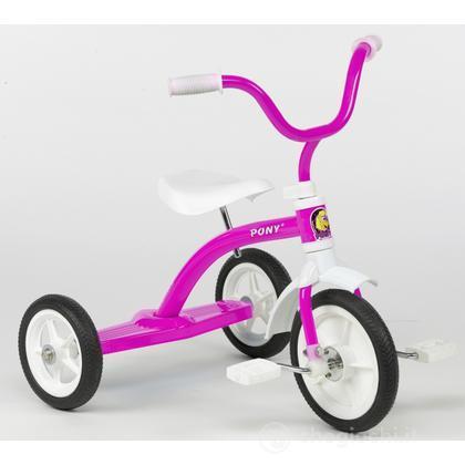 Triciclo 10 pony - Rosa