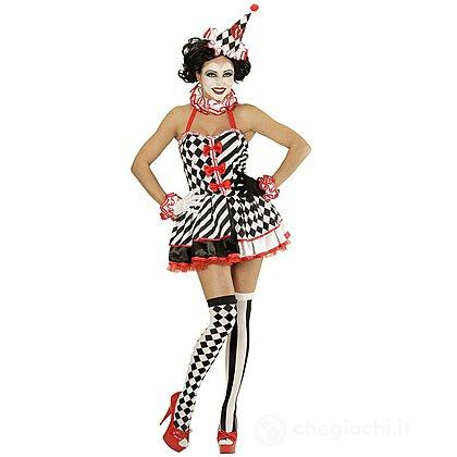 Costume Adulto Pierrot Donna L