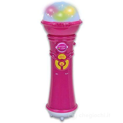 Microfono Con Echo Rosa