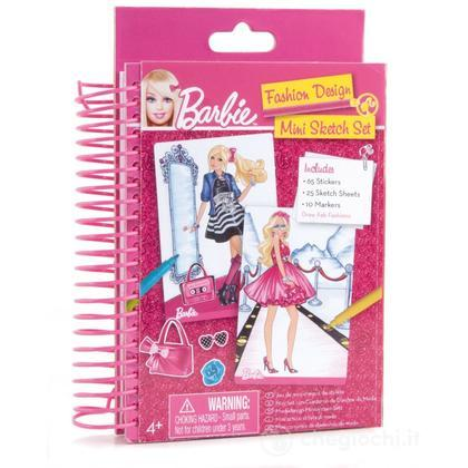 Barbie Mini Fashion Design Sketch Book (FA22305)